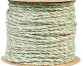 Mint And Natural Jute Twine 50yd  - Bakers Twine - Jute Twine