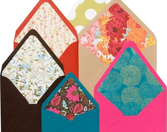 """Paper Source Envelope Liner Template Kit - 4 Bar, A2, A6, A7, A9, 5 3/4"""" square, 6 1/2"""" square"""