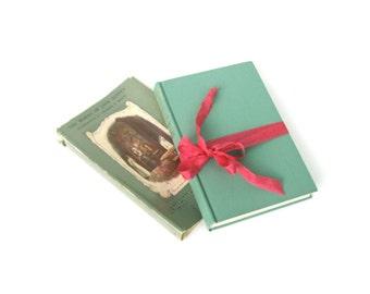 Northanger Abbey by Jane Austen, Vintage Jane Austen Book, Jane Austen Wedding, Mint Wedding Decor, Austen Decor, Mint Interior Design Book