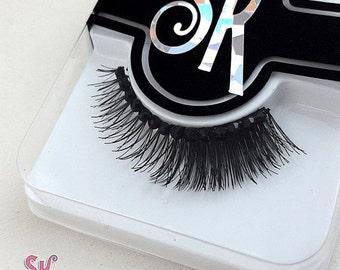 CLEARANCE Heavy Fringe Rhinestone False Eyelashes - SugarKitty Couture