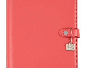 Coral Carpe Diem A5 Planner Pink Binder Posh (IN STOCK) Free Washi Tape with this order