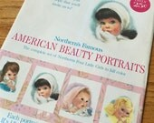 Vintage 1950s Northern's Famous American Beauty Portraits VGC Complete Set / New Baby, Baby Shower Gift, Retro Nursery Decor