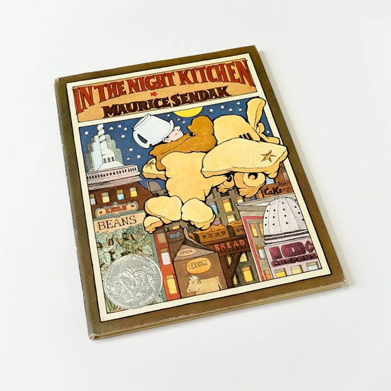 Vintage 1970 Childrens Book / In The Night Kitchen By Maurice