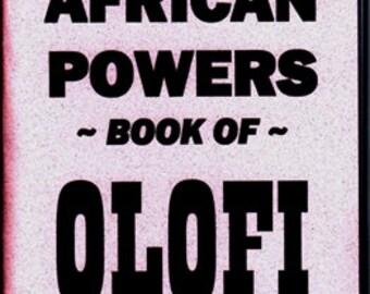 THE 7 AFRICAN Powers Book Of Olofi Book