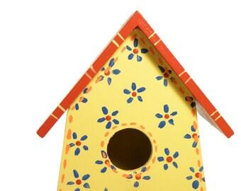 Country bird house home decor