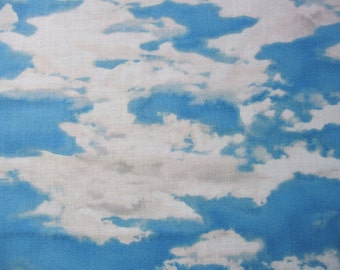 Our National Parks Clouds Blue Sky Quilting Treasures Fabric Yard