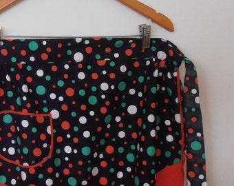 dottie...vintage half apron