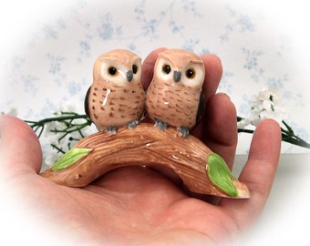 wedding cake topper / owl cake topper / Woodland wedding cake topper / owl figurine / bridal shower cake topper / wedding shower gift