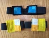 Dan TDM Minecraft Inspired Goggle Headband and Kneepad Set