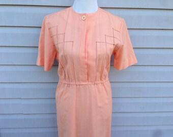 Peach Day Dress