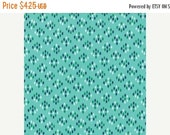 SuperBowl Sale Color Me Happy from V and Co and Moda fabrics, Floral Cluster Drops Aqua, 1/2 yard total