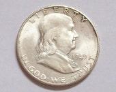 1949S US Silver Half Dollar Coin