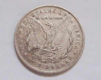 1878 US Silver Dollar Morgan Type First Year