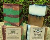 Forest Walk and BEAR(d) Handmade Soap