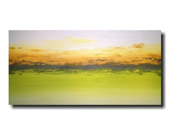Original Large Oil painting - 24 X 48 Inches-by Artist JMJartstudio- Moondance -Wall art-Oil painting