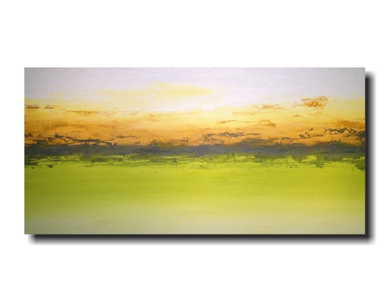 Original Large Oil painting - 24 X 48 Inches-by Artist JMJartstudio- Moondance -Wall art-Oil painting