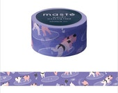 Mark's Japanese Washi Masking Tape - Japan Series / Japanese Sumo Wrestler 20mm wide for packaging, party deco, crafting