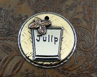 Mint Julip-ID dog tag-Julip-Custom