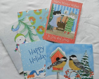 Holiday Greeting Cards - Choose any 4 Cards