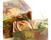 Rustic Woods and Rum Artisan Soap - Handmade Soap, Coconut Milk and Cocoa Butter Soap
