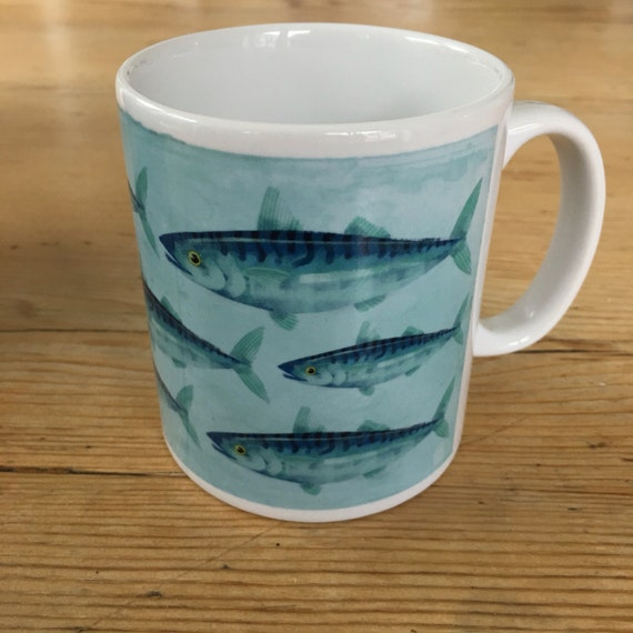 SALE! - Cornish Mackerel - Ceramic Mug
