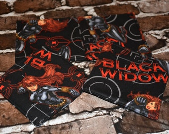 Black Widow Coaster Set