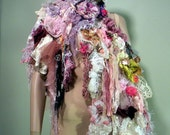 BOHO-CHIC SCARF - Signature Accessory, Wearable Fiber Art, Extra Long, Unsurpassed Quality Marerials