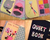 Quiet Book - Girl