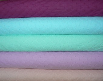 Eyelet Cotton Fabric by Michael Miller - 1 Yard