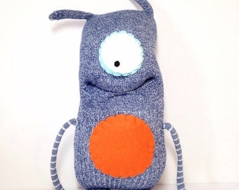 HERBIE - Handmade Monster, Sock Monster