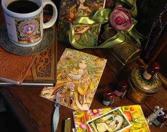 Coffee Mug and Cards