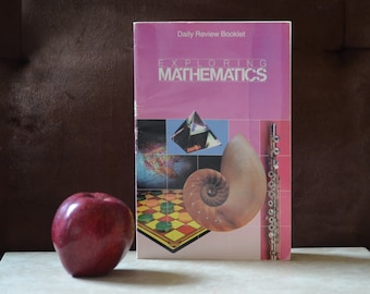 Exploring Mathematics-Daily Review Booklet-Supplement Book Scott Foresman and Company ISBN 0-673-33246-2 6th grade Math Book by Bolster 1991