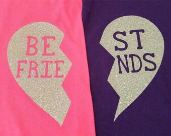 Best Friends Matching Shirts Short Sleeve