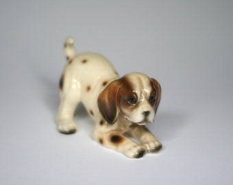 vintage ceramic dog made in japan