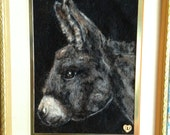 Sara the donkey felting reserved for Michelle