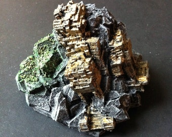 3D Printed Golden Temple Ruin Miniature, Medieval Miniature, Board Game Piece, Fantasy Miniature, Dungeons And Dragons Miniature