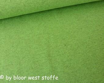 Lillestoff Stretchjersey Ara Green-Mélange Uni Organic Cotton Jersey
