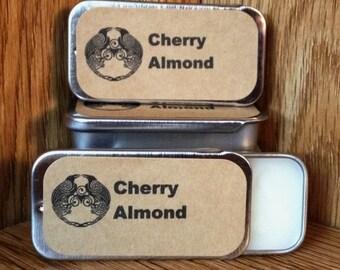Cherry Almond Solid Perfume Balm