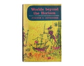 "SALE! Joseph Low book cover design, 1955. ""Worlds Beyond the Horizon"" by Joachim G. Leithäuser"