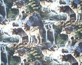Wild Wolves Custom Ordered Purse on Reserve