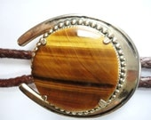 Very Awesome Tiger's Eye Bolo