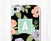 iPhone 6 Case Floral iPhone SE Case Samsung Galaxy S7 Case Floral Phone Case iPhone 6 Plus Case Mint iPhone 5 Case Samsung Galaxy S6 Case