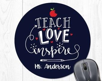 Personalized Teacher Gift Teacher Appreciation Gift Teacher Gift for Teacher Classroom Decor Teacher Gift Ideas Teacher Mouse Pad