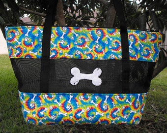 """Dog Carrier-Muliti Colors and Bones """"READY TO SHIP"""""""