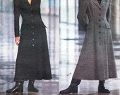 ON SALE Vogue Dress Pattern 1054 by DKNY - Misses' Lined, Flared,  Ankle Length Dress - Vogue American Designer - Sz 14/16/18