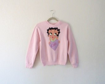 BETTY BOOP pullover small