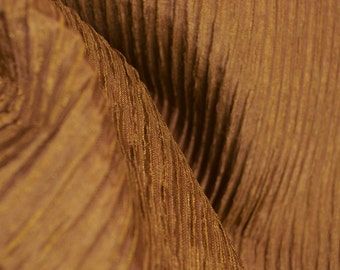 REMNANT Monaco Bronze Texture Fabric 53 Inches x 4 Yards