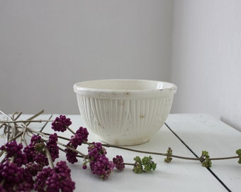 Small White Mixing Bowl