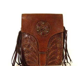 Leather Boho Bag.