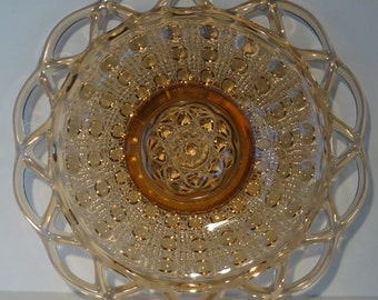 """Imperial Lace 7"""" salad plate"""